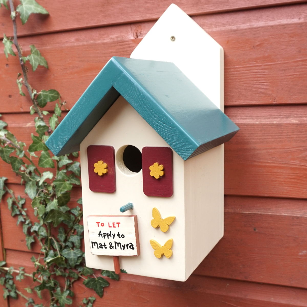Personalised Forest Lodge Bird House - product images  of
