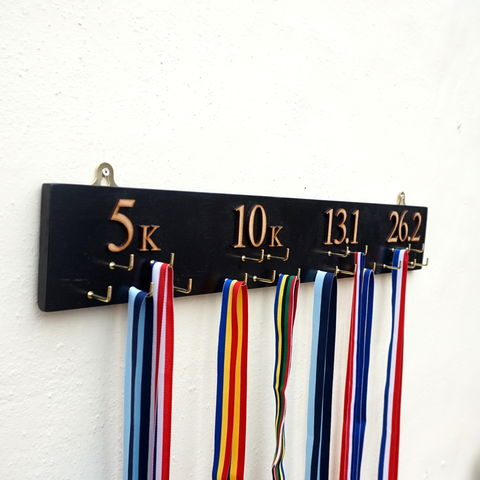 Large,Wooden,Marathon,Medal,Hanger,medal hanger, medal holder, medal rack, handcrafted, marathon medals, medals, running, runner, father's day, London marathon, medal display