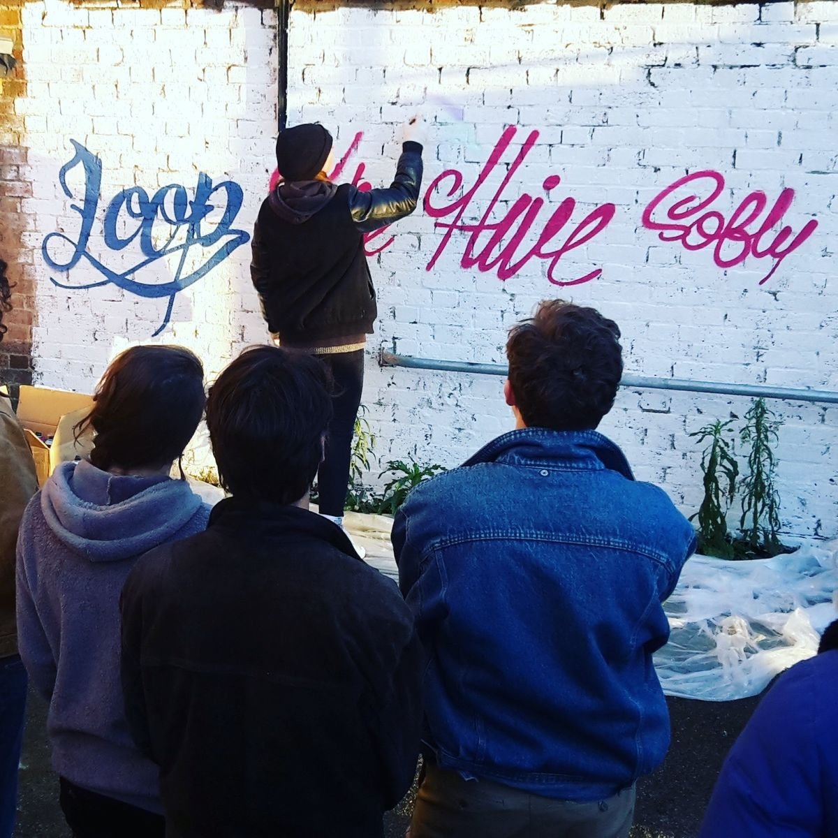 Graffiti workshop spray paint lesson X 4 people - product images  of