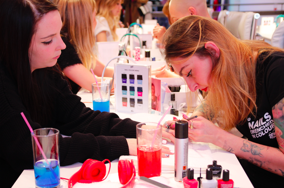 Nail Art Bar At Event Sophyrobson