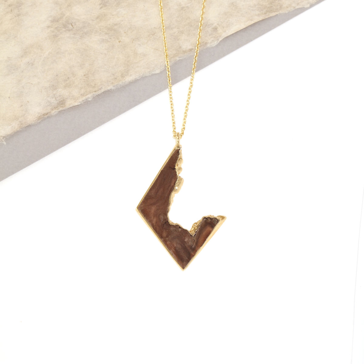Iron Wood and 22ct yellow gold finish- To Order Only - product images  of