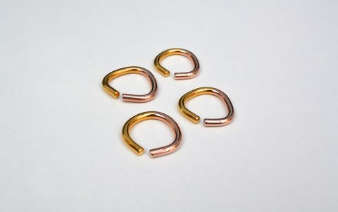 Vice,Ring,2Tone,Gold,Sterling Silver, gold, rings, ring, yellow gold, rose gold