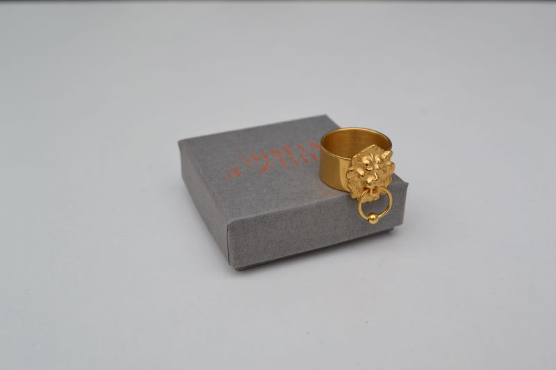 Lion Door Knocker Ring - product images  of