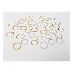 Stacking,rings,Stacking rings, rings, sterling silver, silver, gold, yellow gold