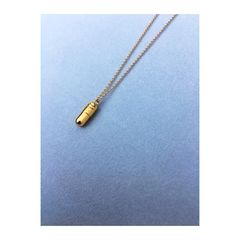 PILL PENDANT. Capsule necklace - product images 3 of 6