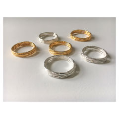 Twiggy Rings - Silver and Gold - product images 3 of 4