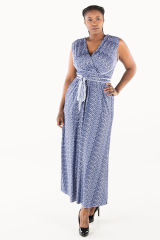 CrissCross,Maxi,Dress
