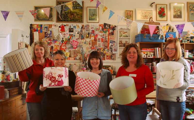 Lampshade Making Workshop Dumfries - product images  of