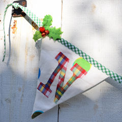Festive,Bunting,Workshop,bunting, sewing class, applique, dumfries