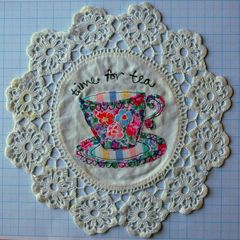 Machine,Embroidery,&,Appliqué,Workshop,So Sew Pretty, Leah Halliday, sewing, workshop, dumfries, vintage, drawing, freehand, machine, embroidery