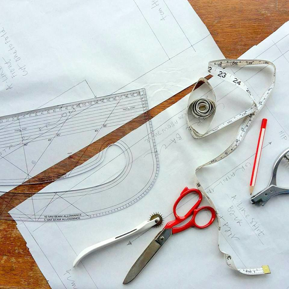 Beginners Pattern Cutting Workshop - product image