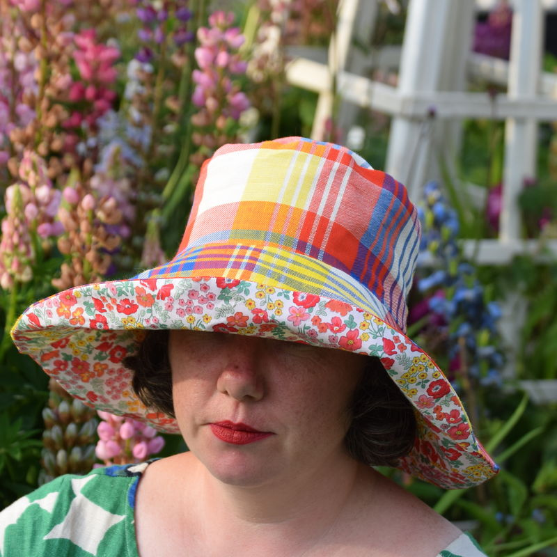 Reversible Sun Hat Workshop - product images  of