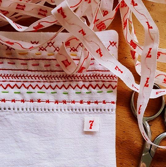 Fabric Advent Calendar Workshop - product images  of