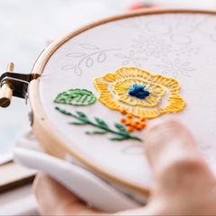 Intermediate,Hand,Embroidery,Workshop,leah halliday, so sew pretty, sewing class in Dumfries, embroidery workshop, hand embroidery