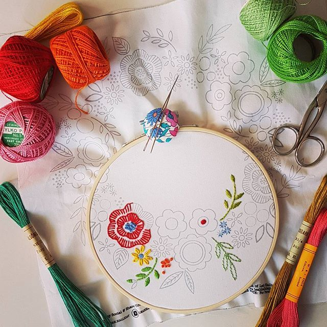Intermediate Hand Embroidery Workshop - product images  of