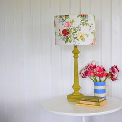 Painted,Lampbase,&,Lampshade,Making,Workshop,lampshade-making-workshop, dumfries-workshop, leah-halliday-workshop, french-chic-paint-workshop