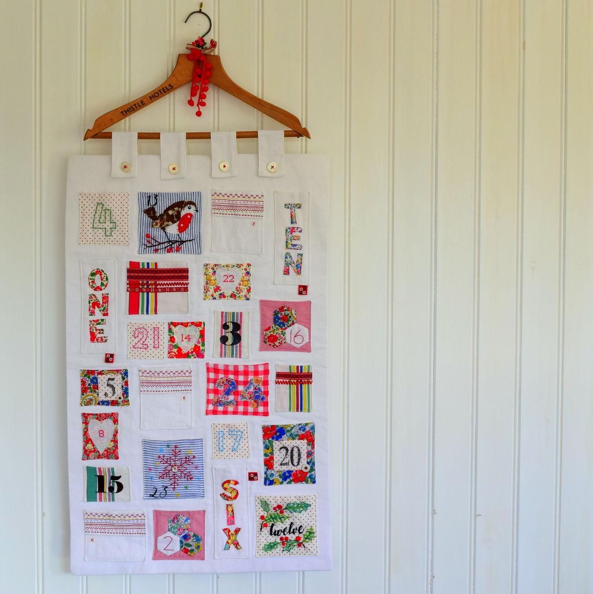 Fabric Advent Calendar Workshop Leah Halliday