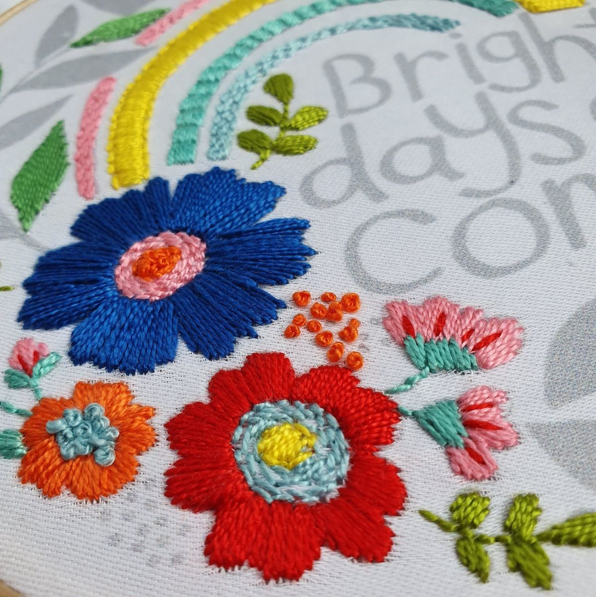 Embroidery Pattern & Threads Brighter Days - product images  of