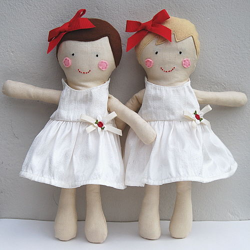 Personalised Flowergirl Doll - product images  of
