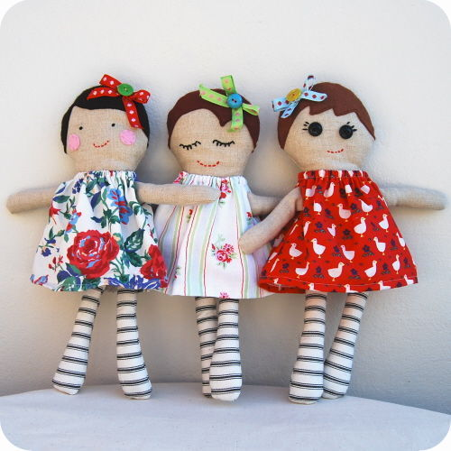Personalised Handmade Doll - product image
