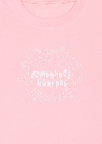 'HEDORO',EMBROIDERY,T-SHIRT,somewhere nowhere, aw15, fashion, deisgner, online shop, hong kong, unisex, london, worldwide shipping, christmas, present, gift, kawaii, cute, girly, baby pink, pastel, pink, embroidery, t-shirt, japanese style, vintage, romance, oversize