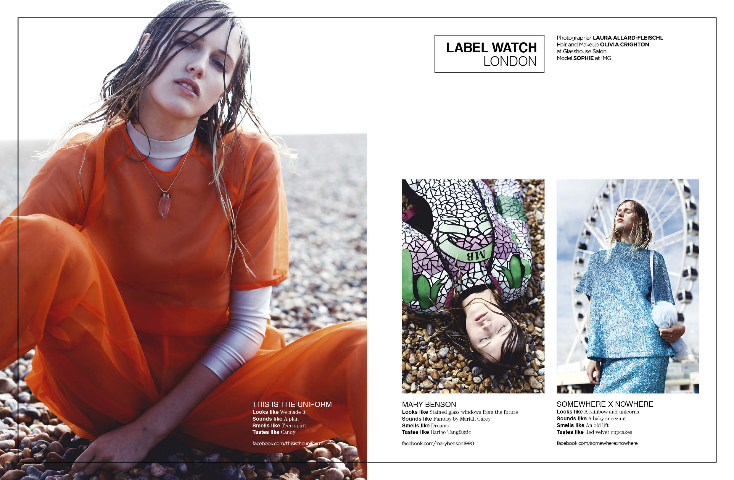 Featured in Catalogue Magazine Issue 6 - Label Watch
