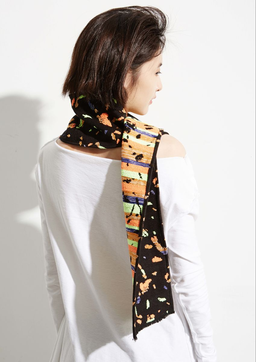 8ENNY LIN WOOL SCARF - product images  of