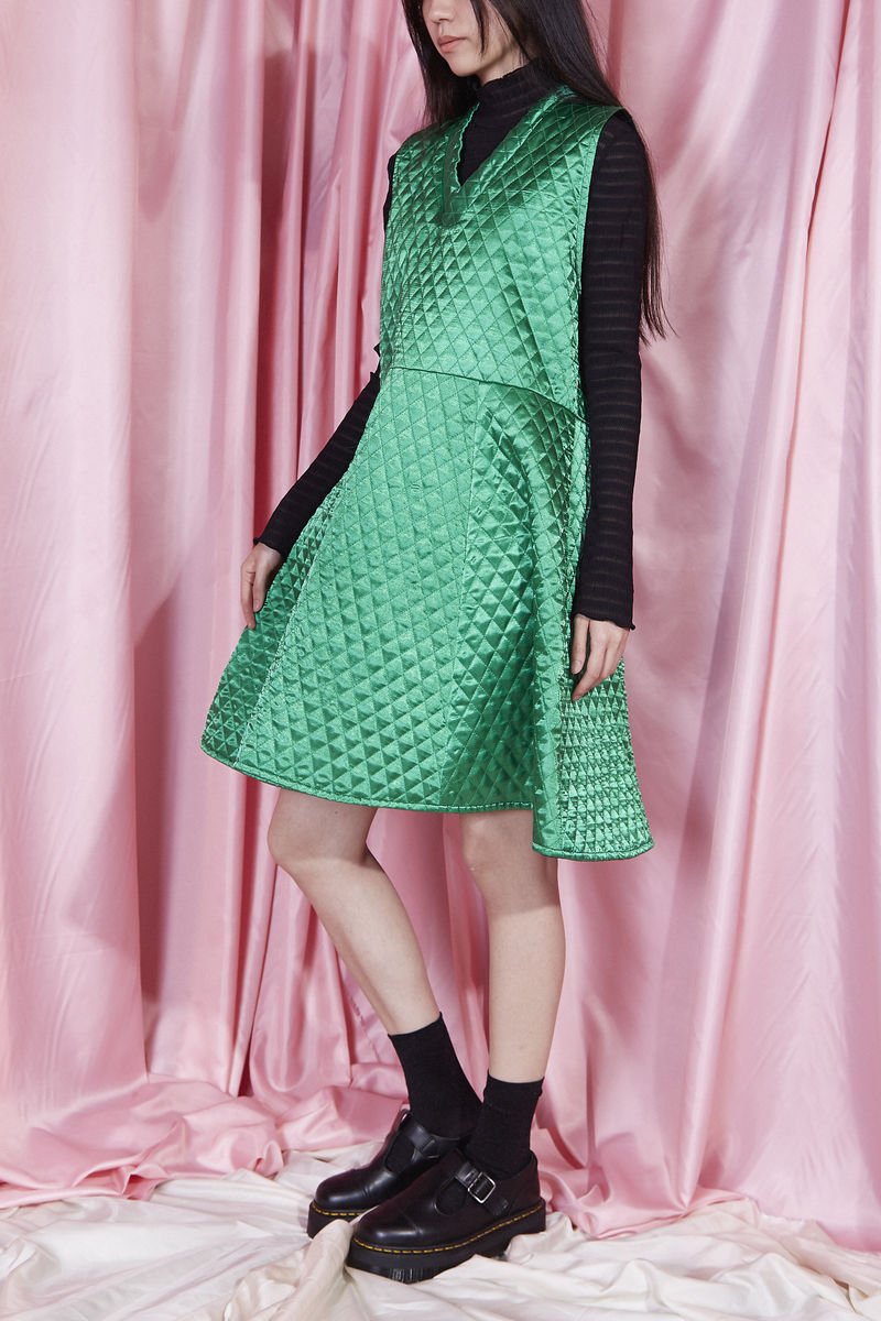 QUILTED DRESS - product image