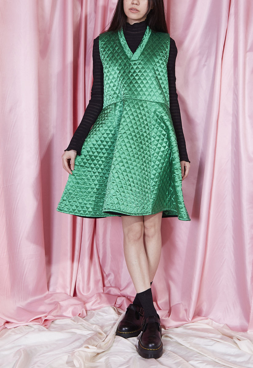 QUILTED DRESS - product images  of