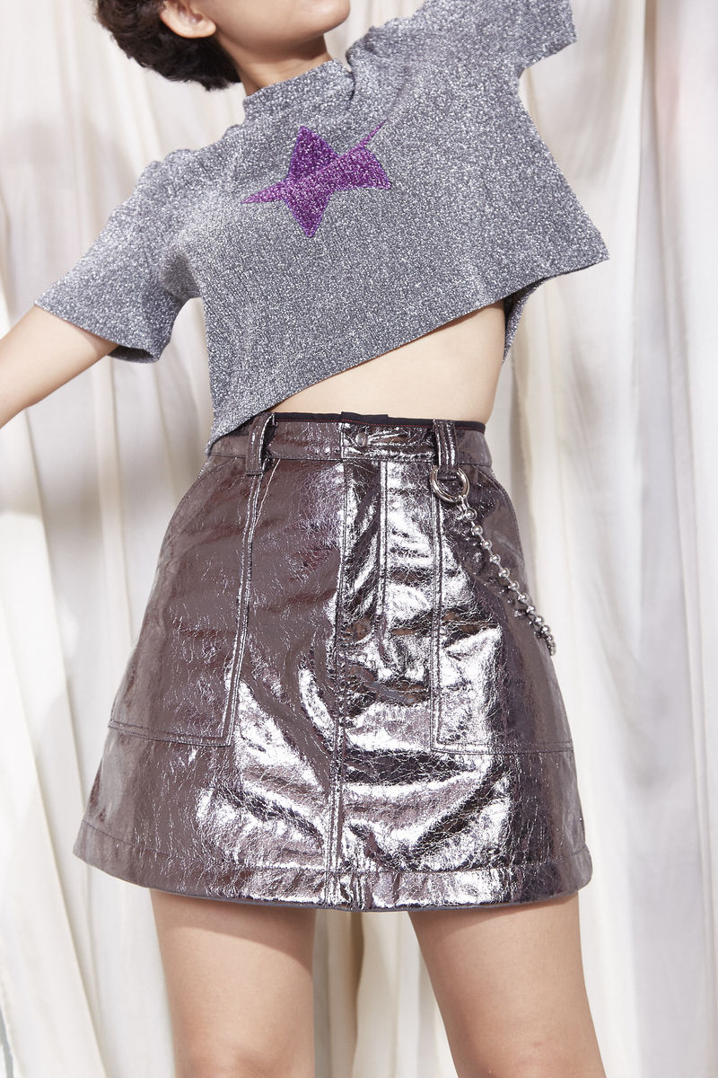 METALLIC SKIRT - product images  of