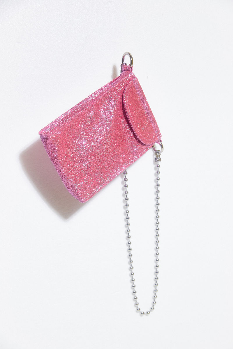 GLITTER CROSS BODY BAG - product images  of