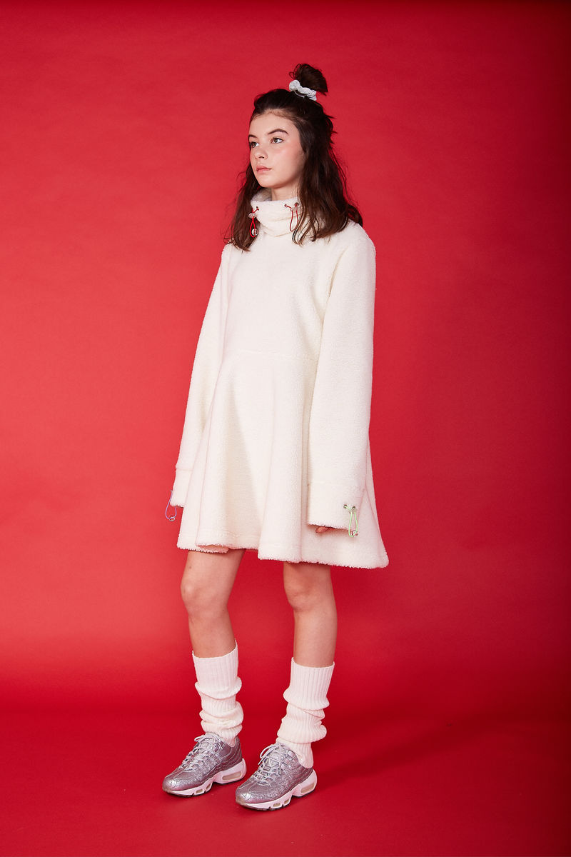 SHERPA FLEECE DRESS - product images  of
