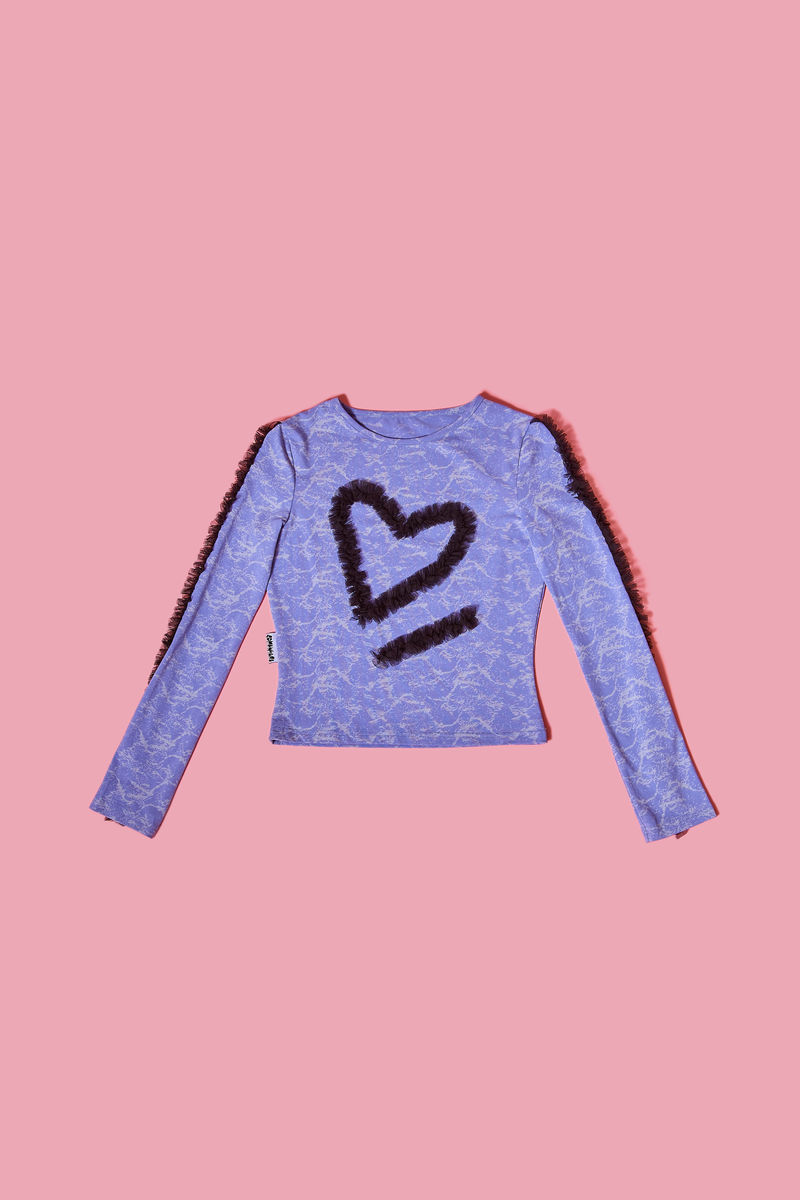 HEART FRILLS TOP - product image