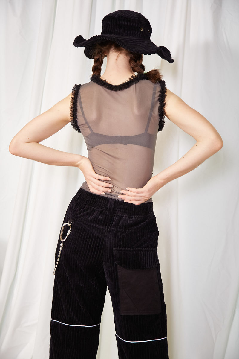 'HER' SHEER VEST - product images  of