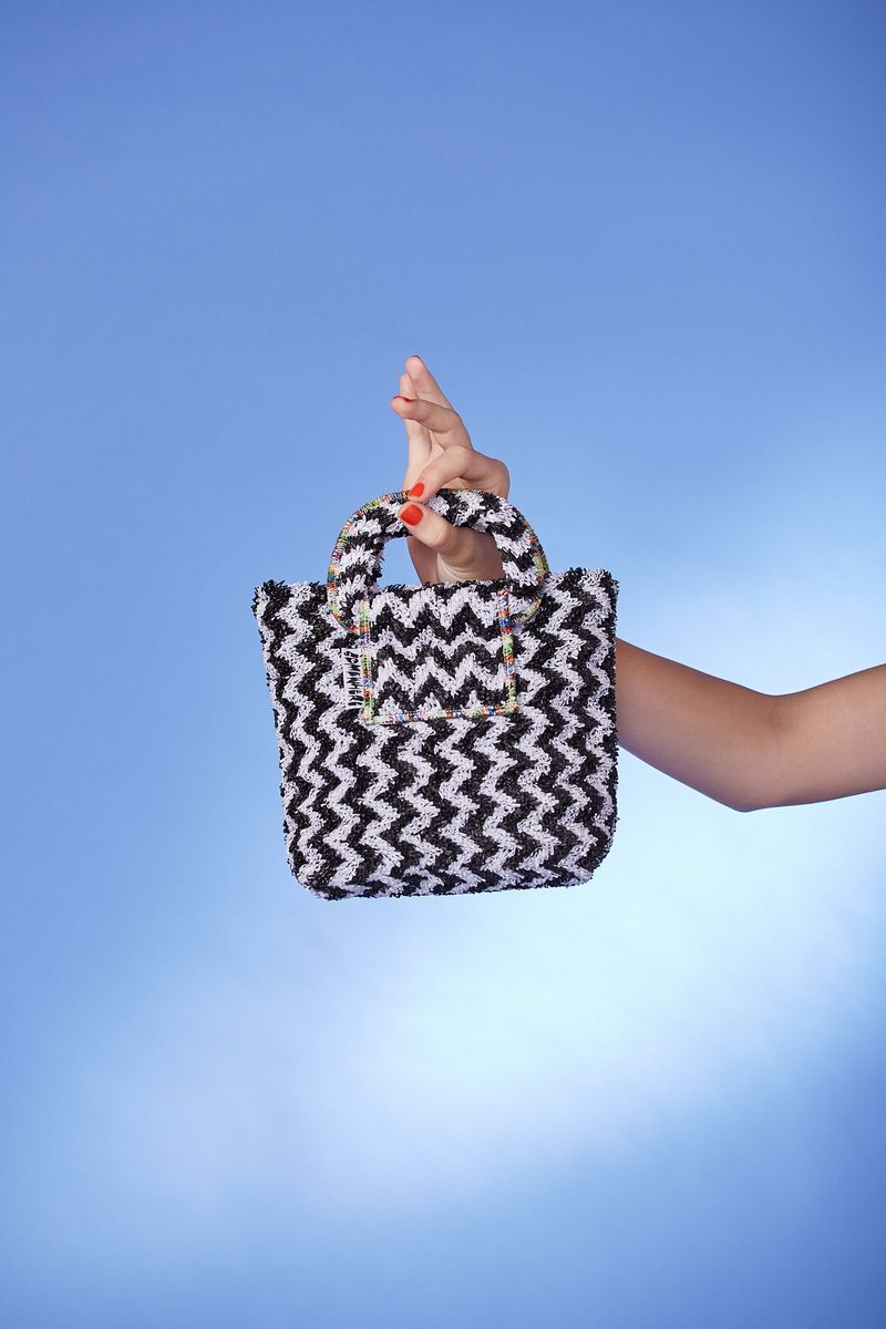 ZIGZAG TOTE BAG - product images  of