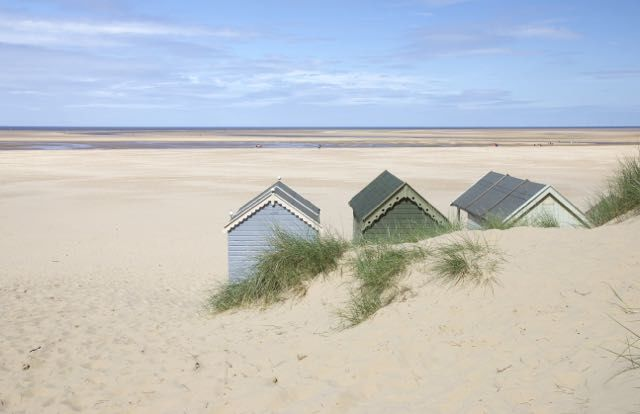 Beach Huts View - product images