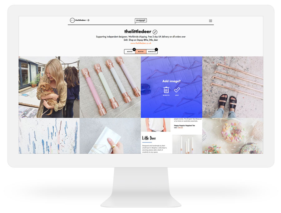 Snapppt - Make your Instagram shoppable