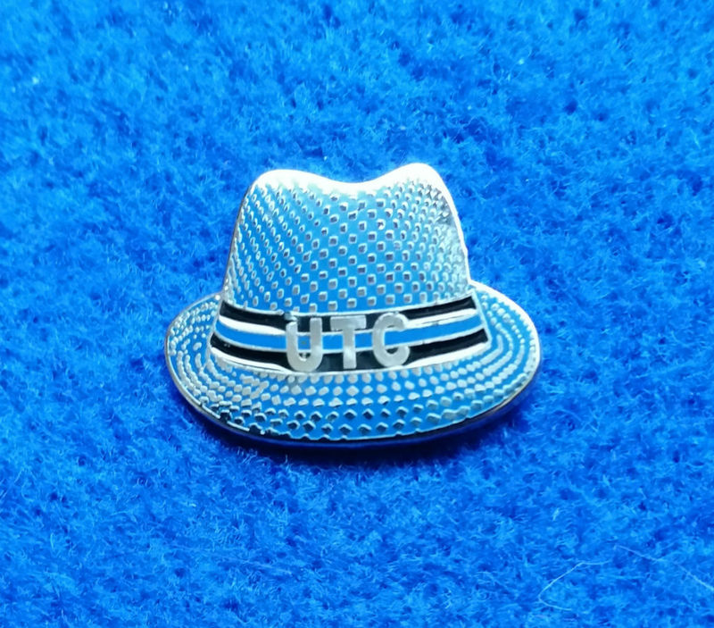 UTC Hat 'Up The Chels' Pin Badge - product image