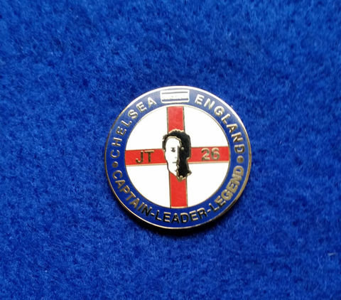 'Captain, Leader, Legend' JT26 Pin Badge - product images  of