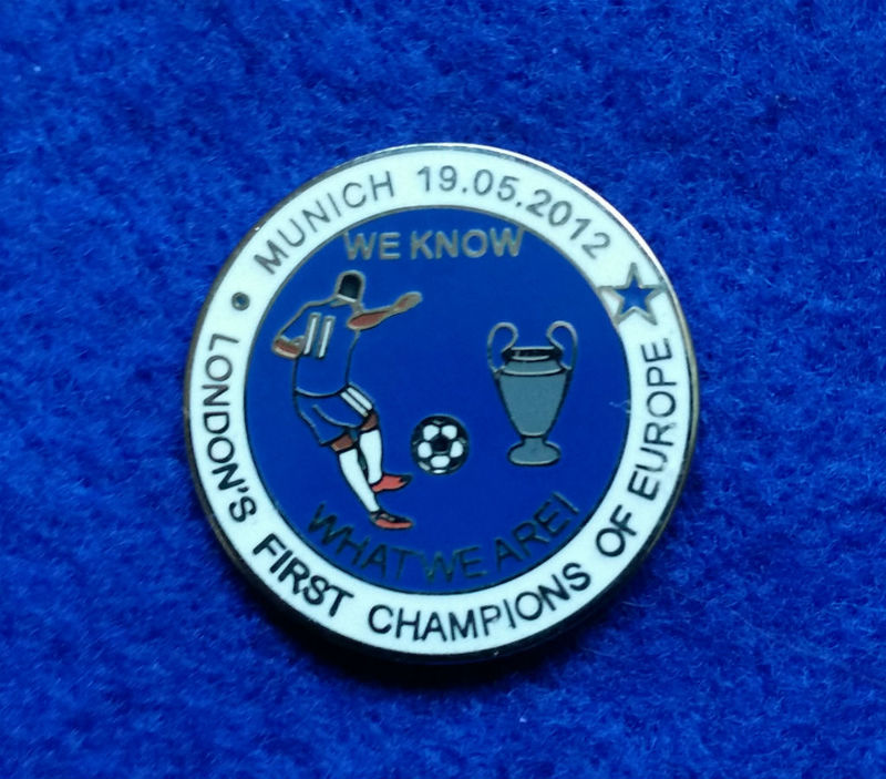 'We Know What We Are'   Pin Badge - product image