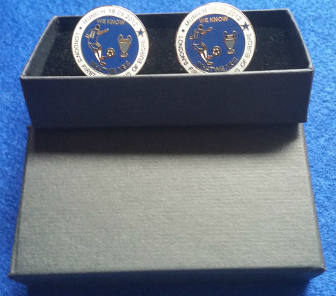 'WE,KNOW,WHAT,WE,ARE',cufflinks,cufflinks Chelsea FC Enamel Badge Pin Football Souvenir Collectable We Know What We Are Munich 2012 London's First London's Finest Champions of Europe 1905 19/05/2012