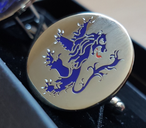 'Rampant Lion' cufflinks - product images  of