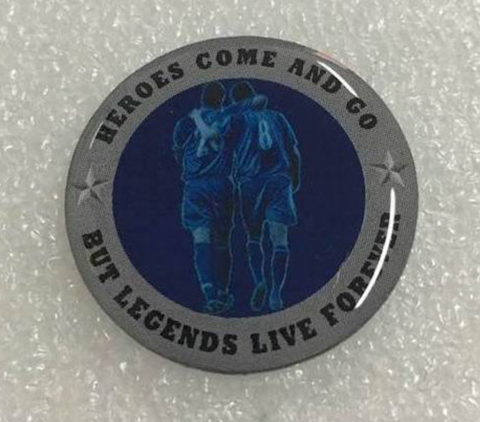 'Forever,Legends',Badge,Pin,Legends John Terry JT26 Frank Lampard badge pin souvenir Chelsea FC collectable Xmas gift
