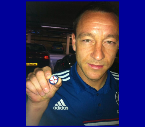 'Captain,,Leader,,Legend',JT26,Pin,Badge,Chelsea FC Enamel Pin Badges Collectables Football Memorabilia John Terry JT26 Captain Leader Legend