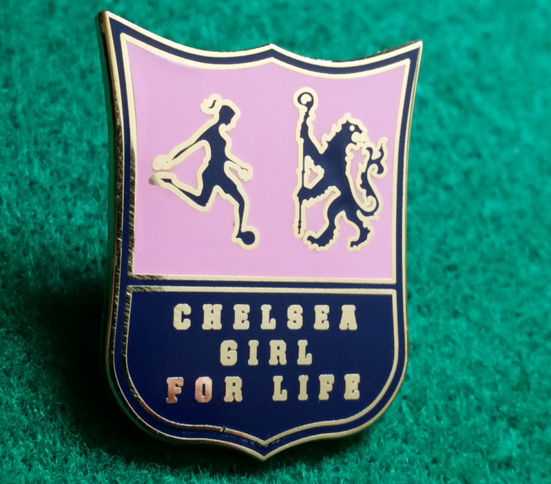 'Chelsea Girl' Badge pin - product image