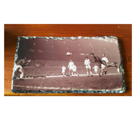 '1970',Slate,Stand,Fa Cup  Final 1970 Chelsea FC Old Trafford Slate Stand Peter Osgood Ossie Born is the King