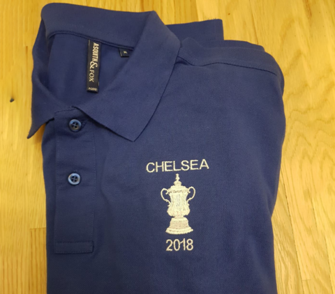 '2018',-,Standard,polo,(Mens,,Ladies,+,Kids),Chelsea FC tee t shirt FA Cup winners 2018