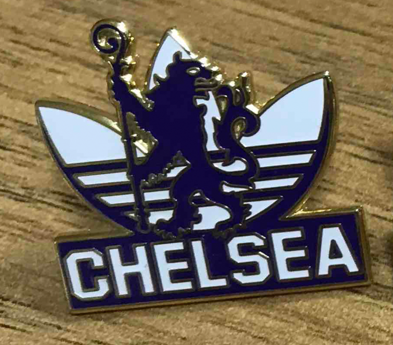 'Adidas White' Badge Pin - product image