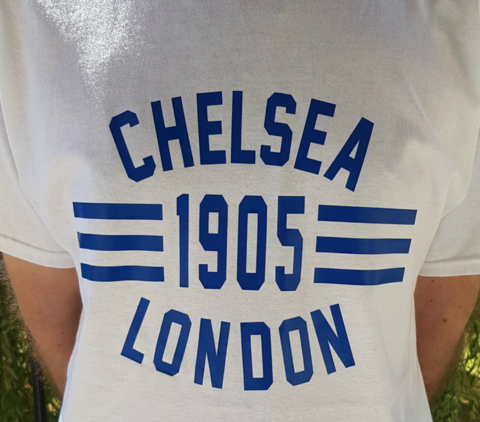 'Loud,and,Proud',T-Shirts,White,(Adults,Kids),Chelsea FC tee t shirt 'loud and proud' London Chelsea 1905