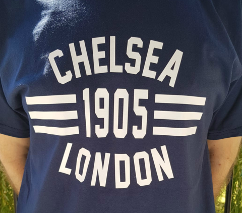 'Loud,and,Proud',T-Shirts,NAVY,(Adults,Kids),Chelsea FC tee t shirt 'loud and proud' London Chelsea 1905